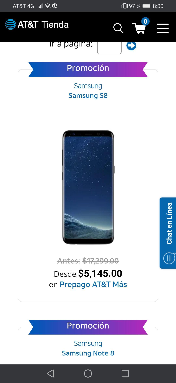 AT&T: Galaxy S8