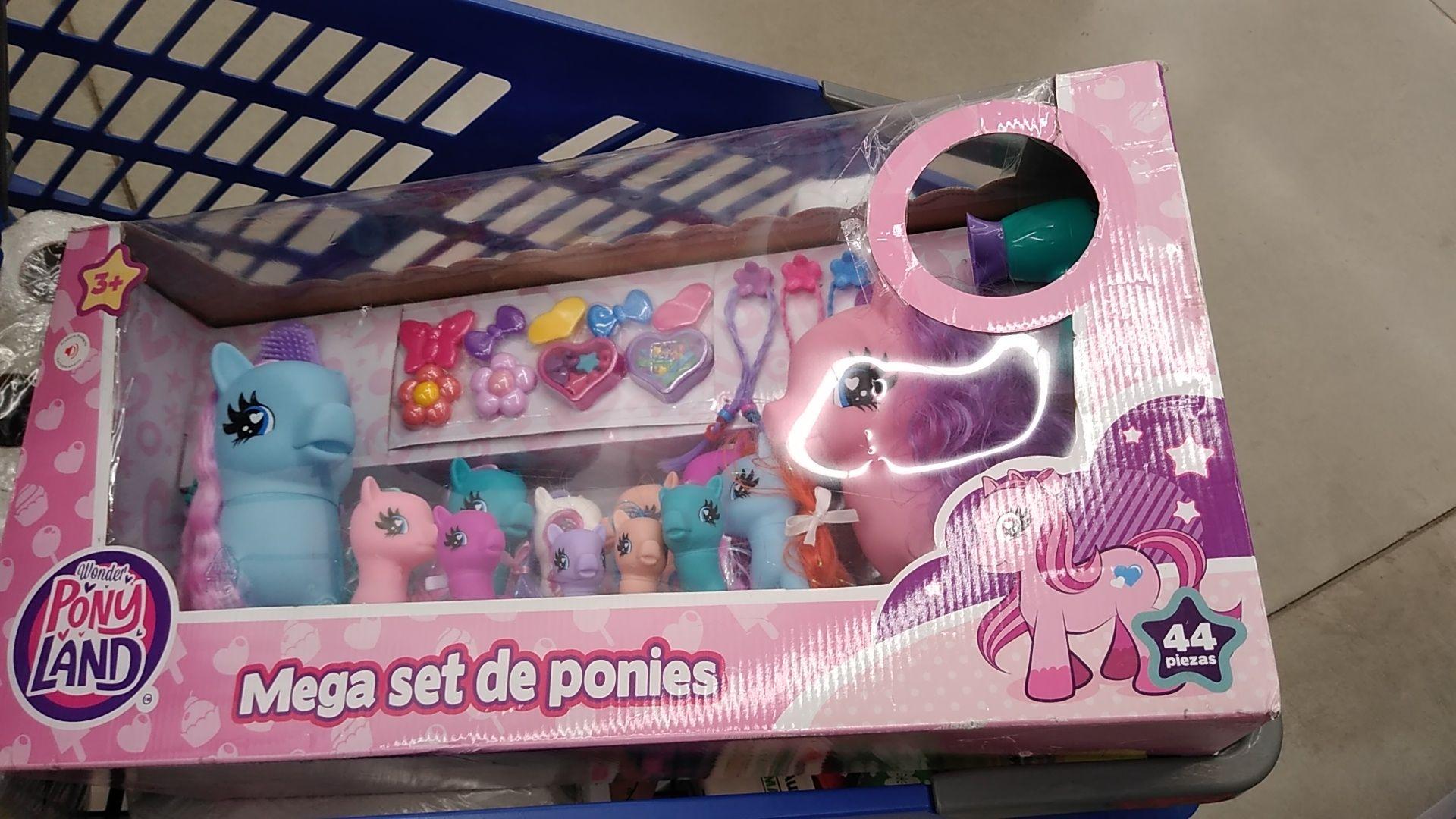 Walmart: Mega combo de ponis