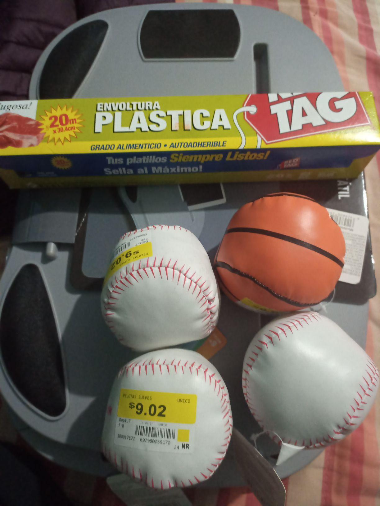 Walmart pelotas suaves 3.01