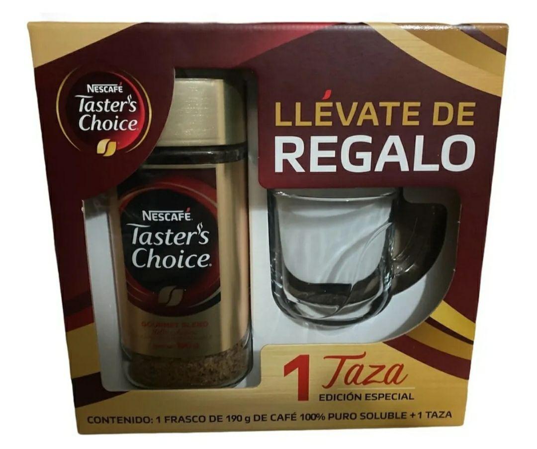 Walmart: café taster choice con taza (2da liquidación)