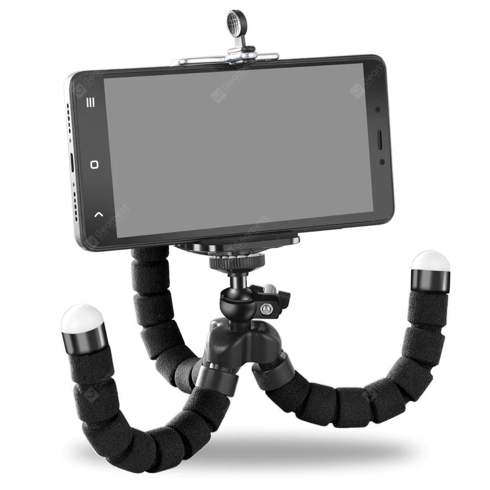 Gearbest: Soporte para teléfono OLAF Soporte para trípode de pulpo flexible Selfie Soporte de montaje de diseño de monopie para teléfono