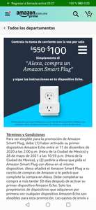 Amazon: Smart plug al pedir desde Alexa