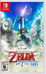 Amazon: Preventa The Legend Of Zelda Skyward Sword para Switch