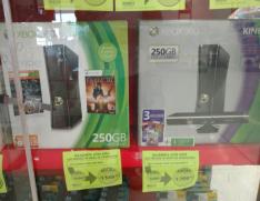 Comercial Mexicana Loreto Puebla: Xbox 360 con disco de 250gb