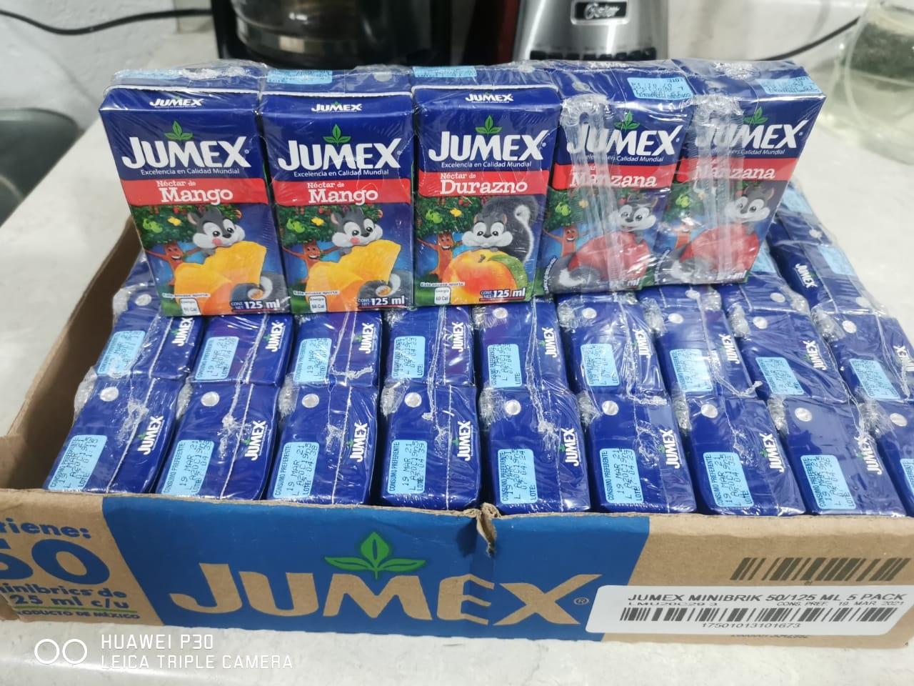 HEB, Jugos Jumex pack 5
