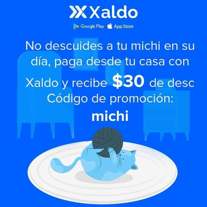 Xaldo: descuento de $30 en pagos de $50