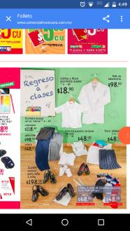 Comercial Mexicana: camisas y blusas escolares en $19