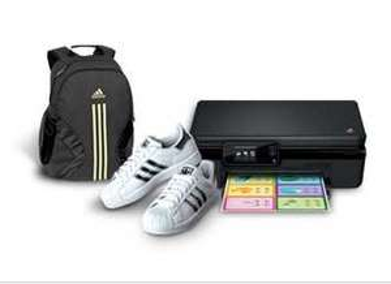 Tenis y mochila Adidas gratis al comprar impresora HP