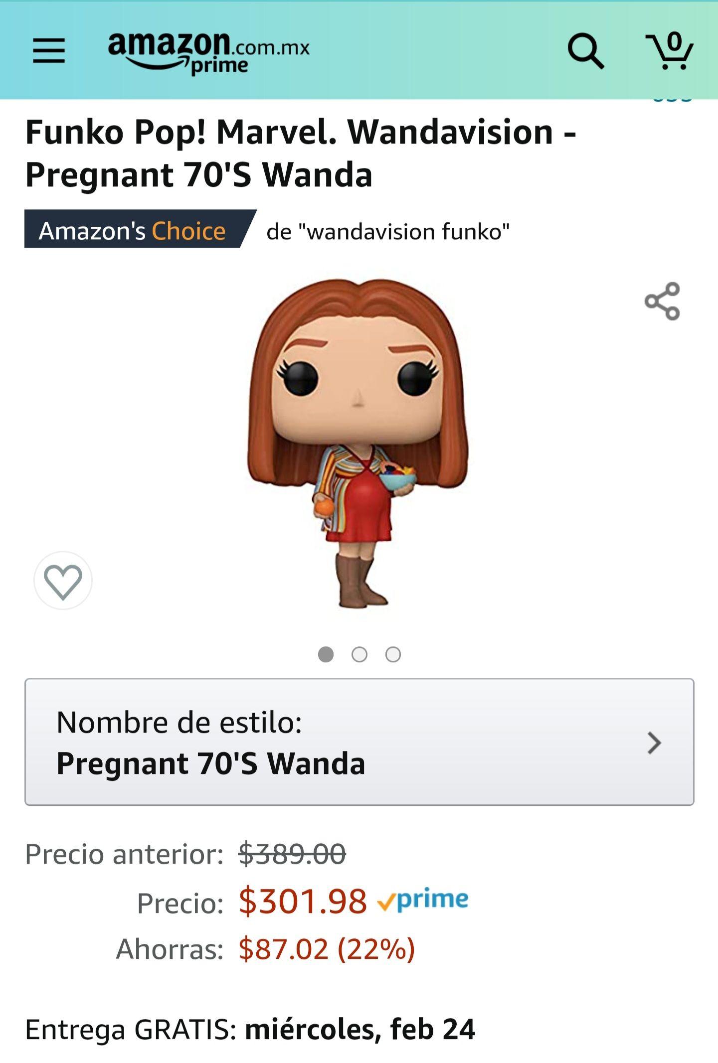 Amazon: Funko Pop! Wanda panzona