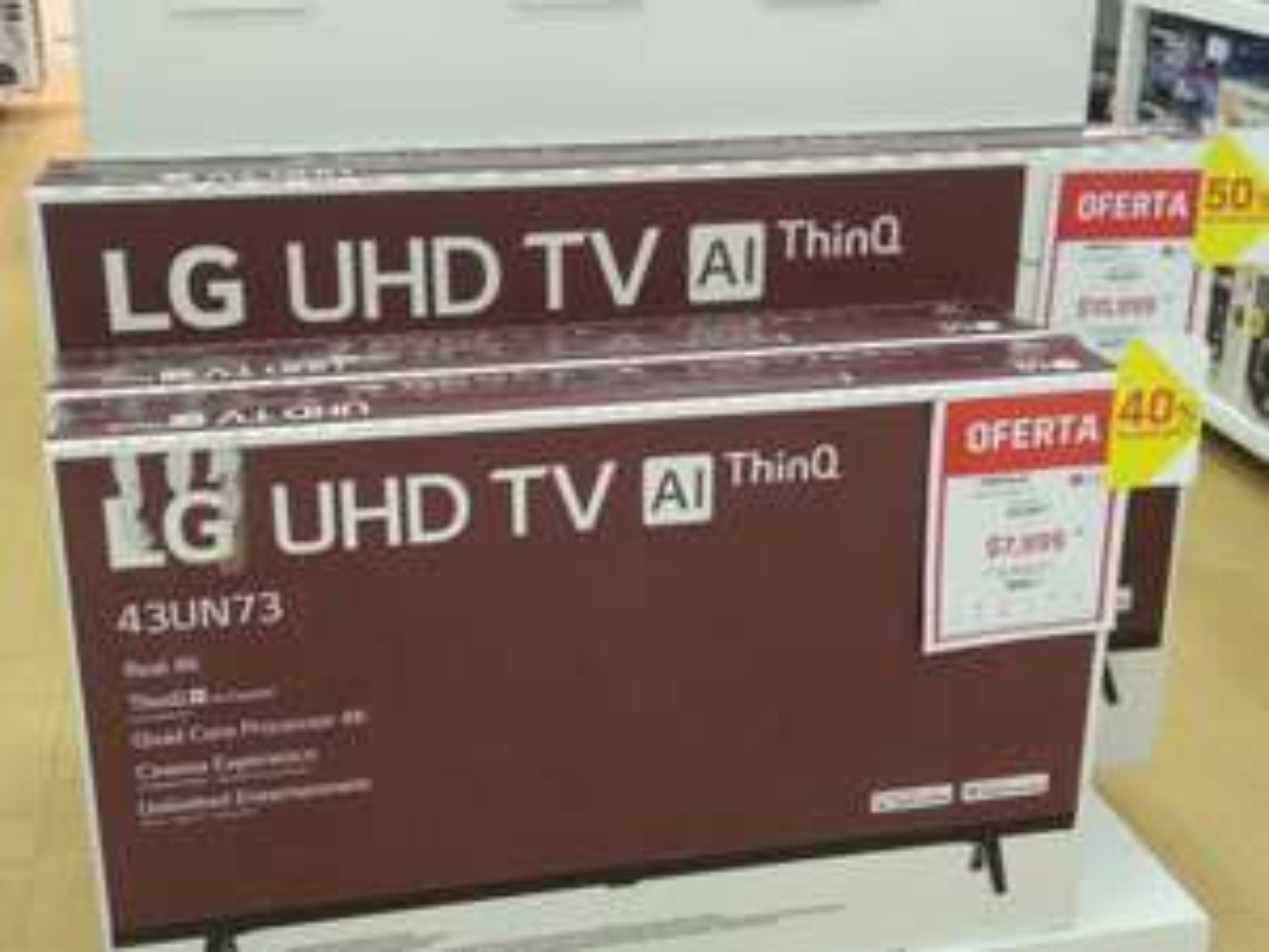 Suburbia: Pantalla LG 55 pulgadas UHD TV AI ThinQ 55UN7300PUC más bocina LG PL5 DE REGALO