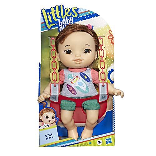 Amazon: Baby Alive Bbay Alive Littles Muñeca Castaña Doll