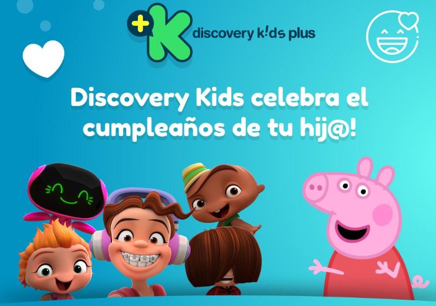 Discovery Kids Festeja a tu Bendición (Pasaran su nombre en la pantalla!) + Extras