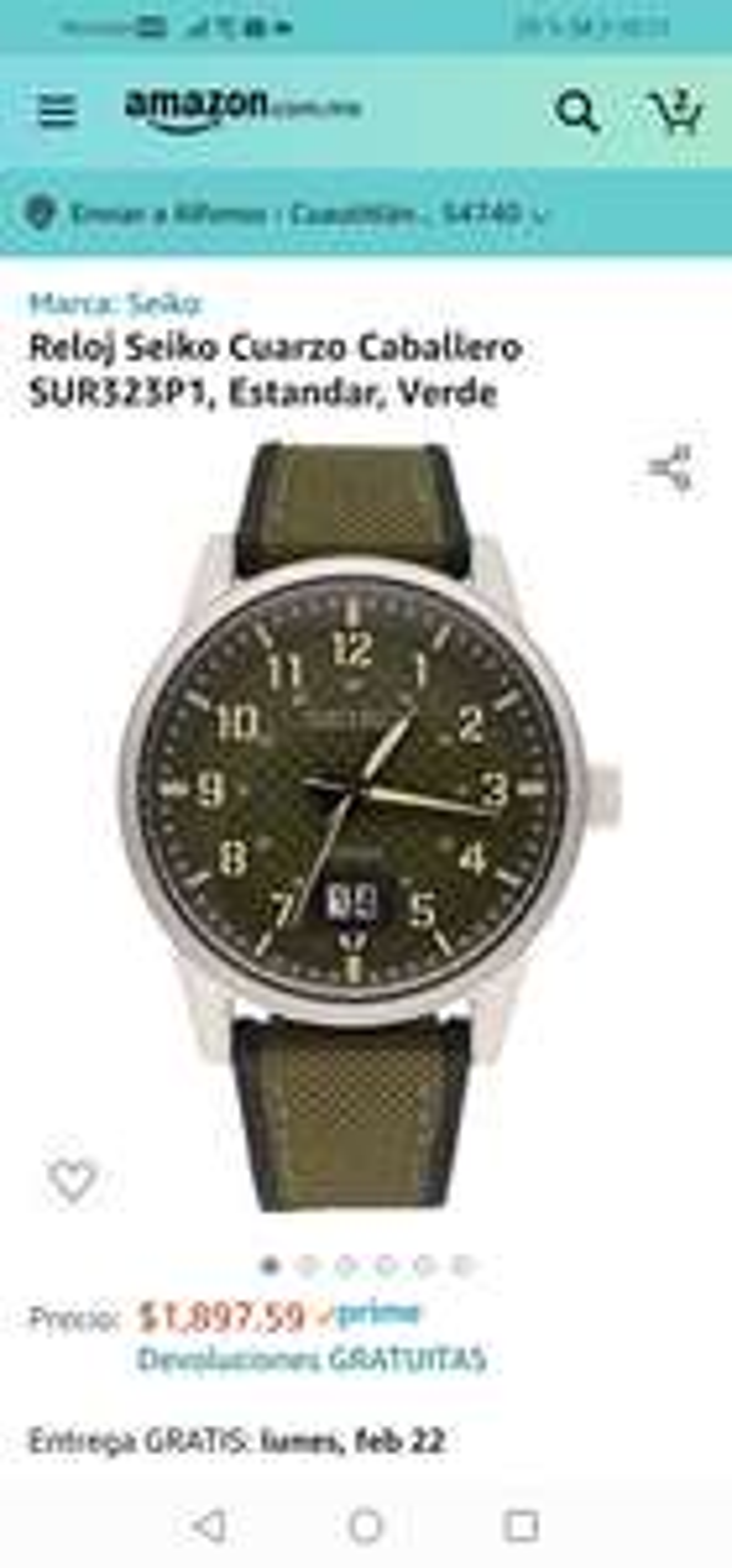 Amazon : Reloj Militar Seiko