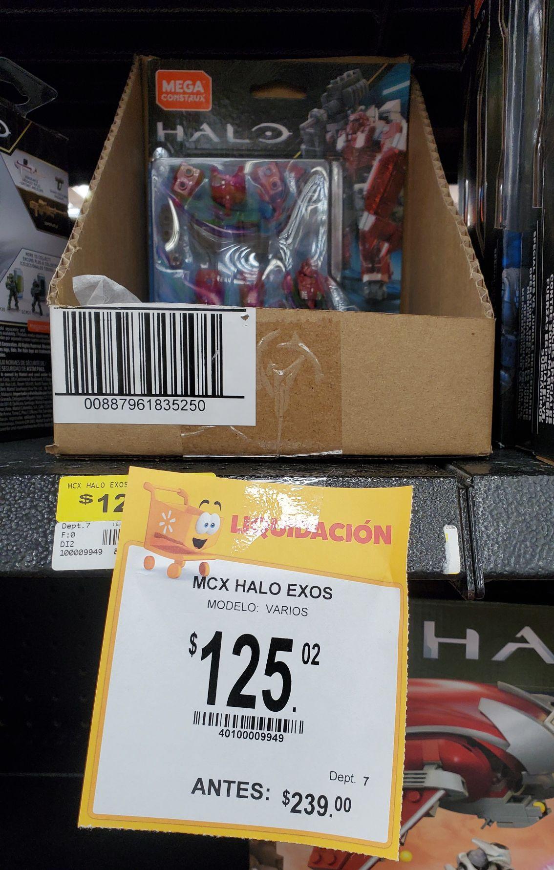 Walmart: Halo Exosqueletos Megaconstrux