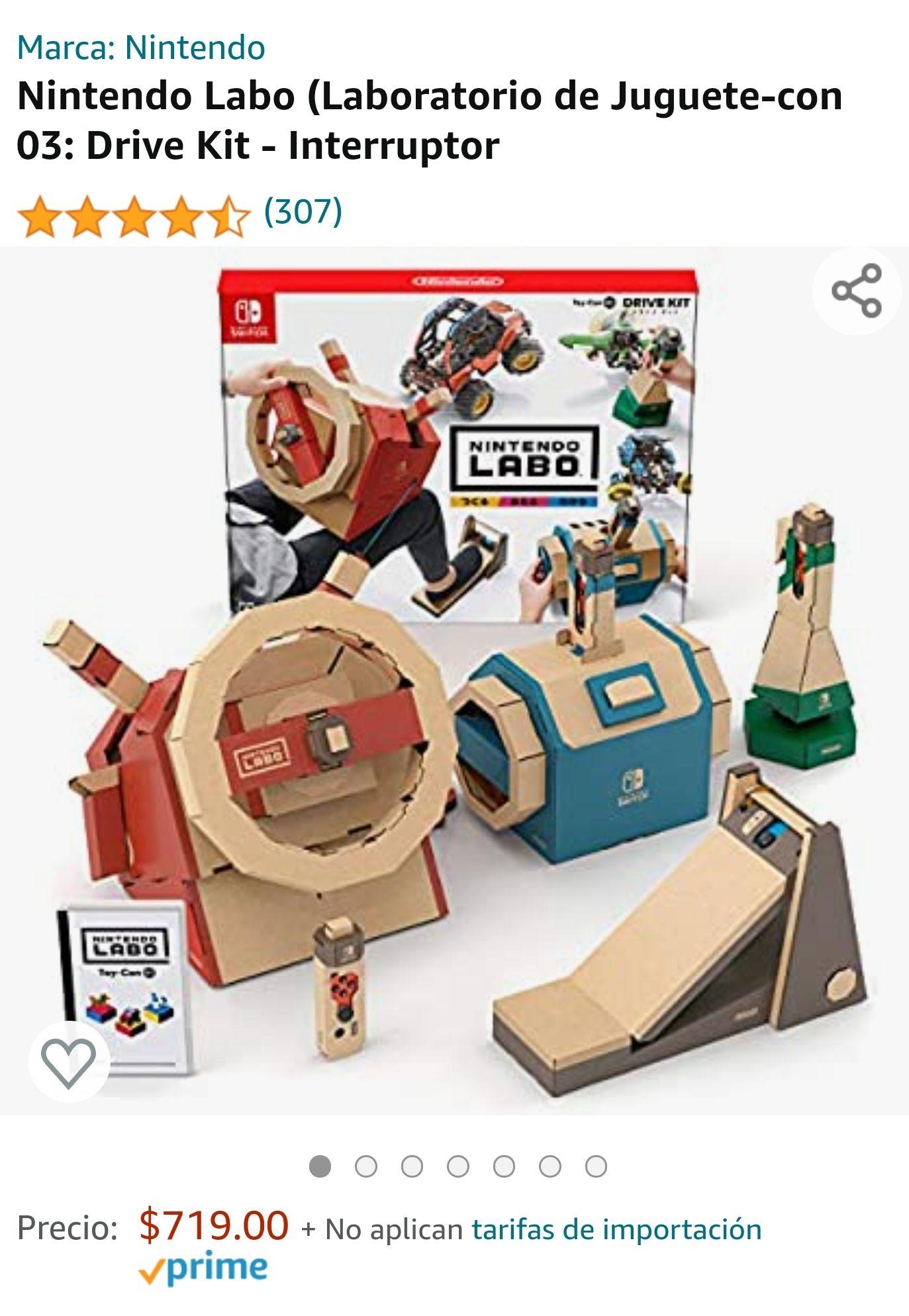 Amazon: Nintendo Labo - Drive Kit