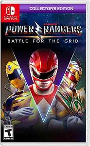 Amazon: Power Rangers Battle of the grid Collector's edition Nintendo switch