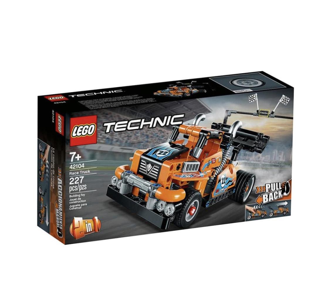 Walmart: LEGO Technic Camión de Carreras 42104