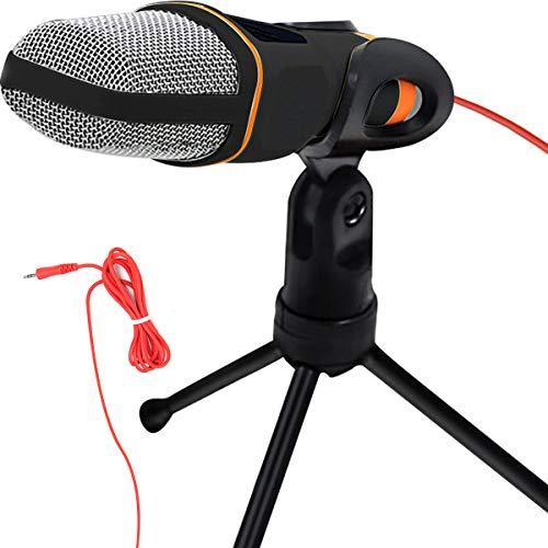 Amazon: Microfono condensador semiprofesional con tripie