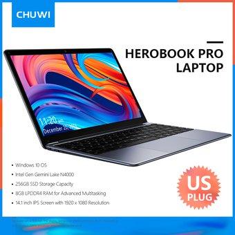 Linio: Laptop CHUWI HeroBook Pro 14.1 pulgadas 1920 * 1080 Pantalla IPS 8GB 256GB SSD