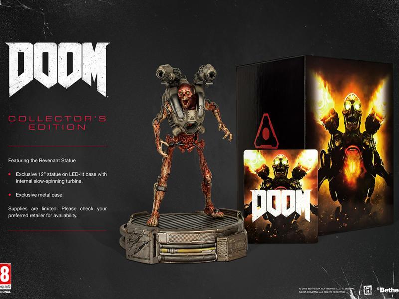 Amazon: Doom Collectors Edition para Xbox One y PS4 a $1,212