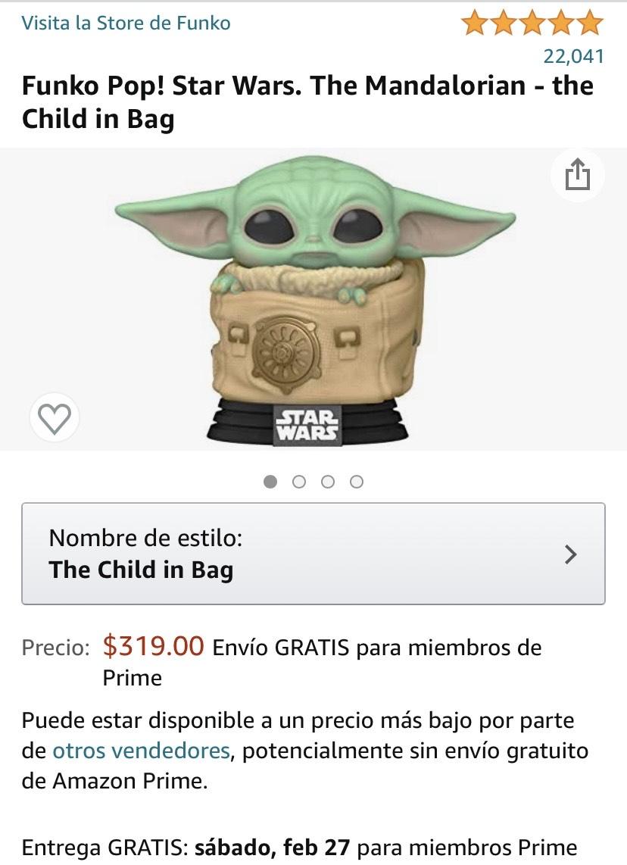 Amazon: Baby Yoda Funko POP!