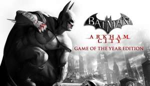 Steam: Batman: Arkham City - Game of the Year Edition