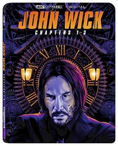 Amazon: Trilogía de John Wick en BluRay 4K
