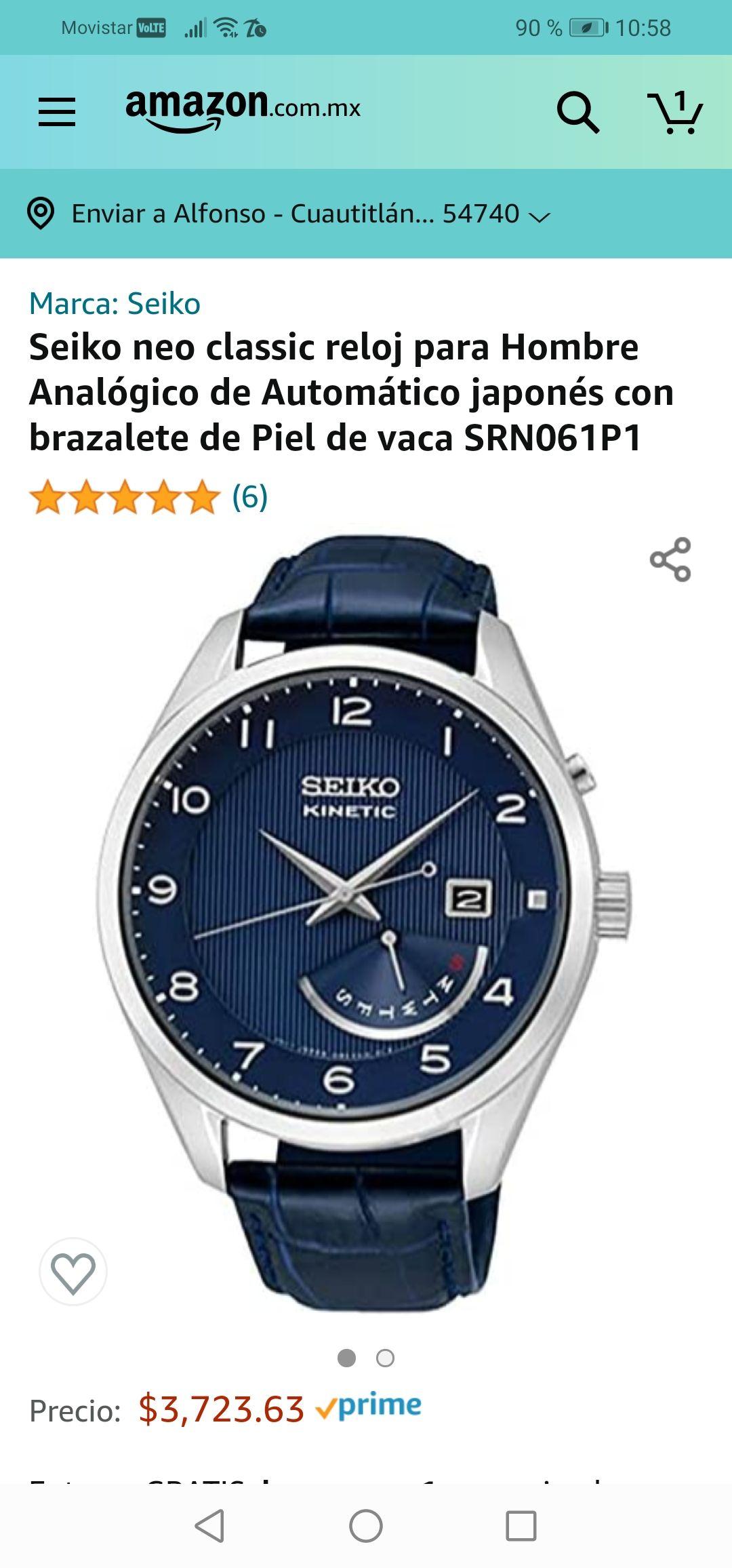 Amazon : Reloj Automático seiko