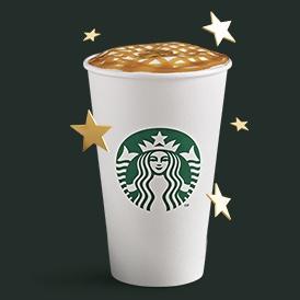 Starbucks: Ordena un macchiato venti desde la app y obtén 30 estrellas adicionales.