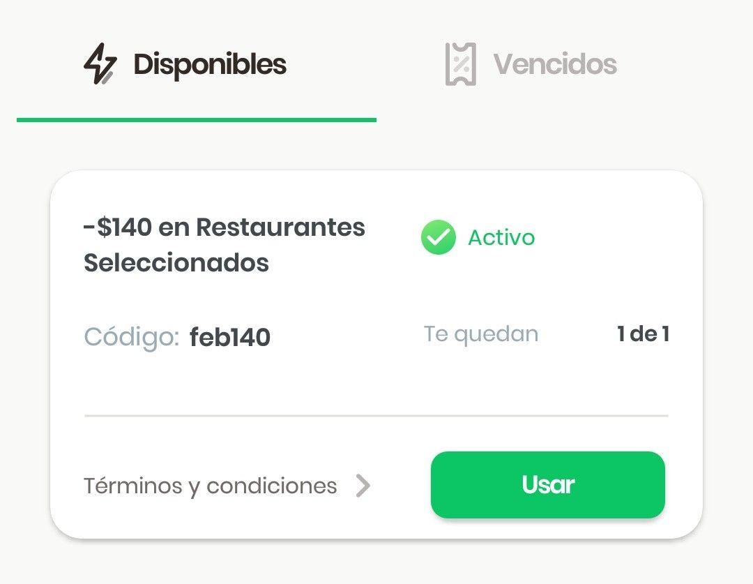 Rappi: Cupón para restaurantes participantes incluido CARLS JR GUADALAJARA Y CENTRO PAÍS.