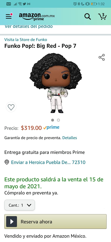 Amazon - Funko Preventa Mónica Rambeau (Wandavision)