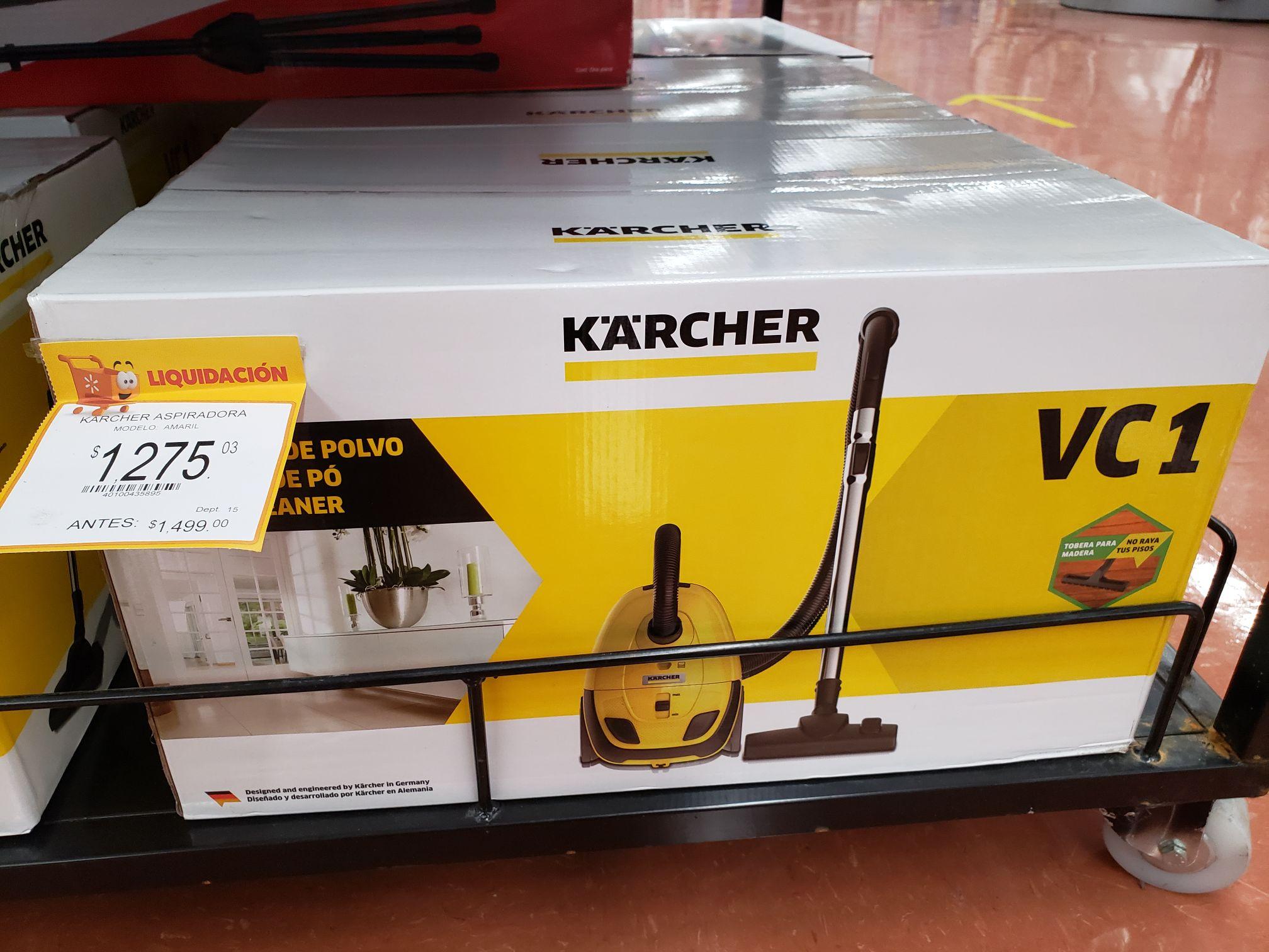 Walmart: Aspiradora Karcher VC1