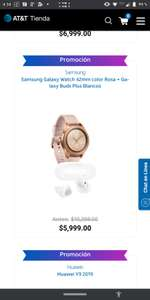 AT&T: samsung galaxy watch 42mm