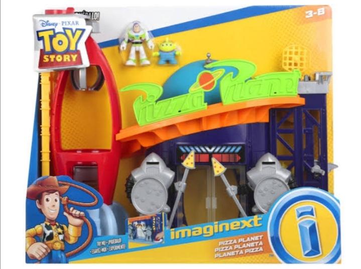 Soriana Mercado: Imaginext Toy Story pizza planeta