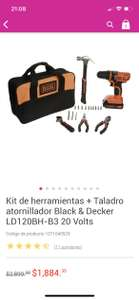 Liverpool: Kit herramientas black and decker