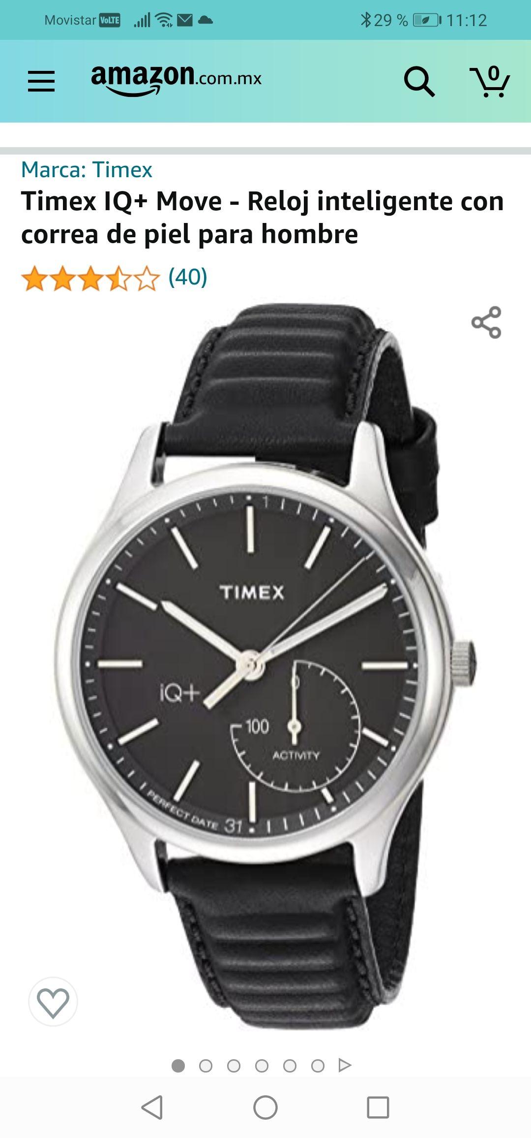 Amazon : Reloj inteligente Timex IQ