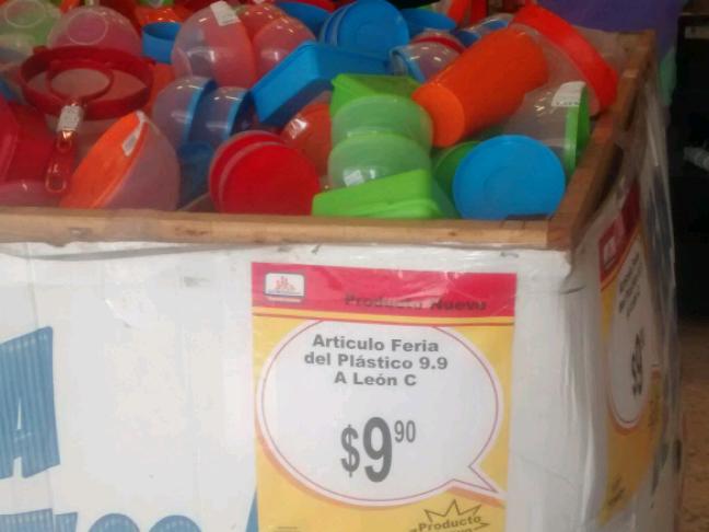 Chedraui Xalapa: feria de plásticos en almacenes Chedraui desde $9.90