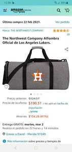 Amazon: bolsa deportiva de los Astros de Houston