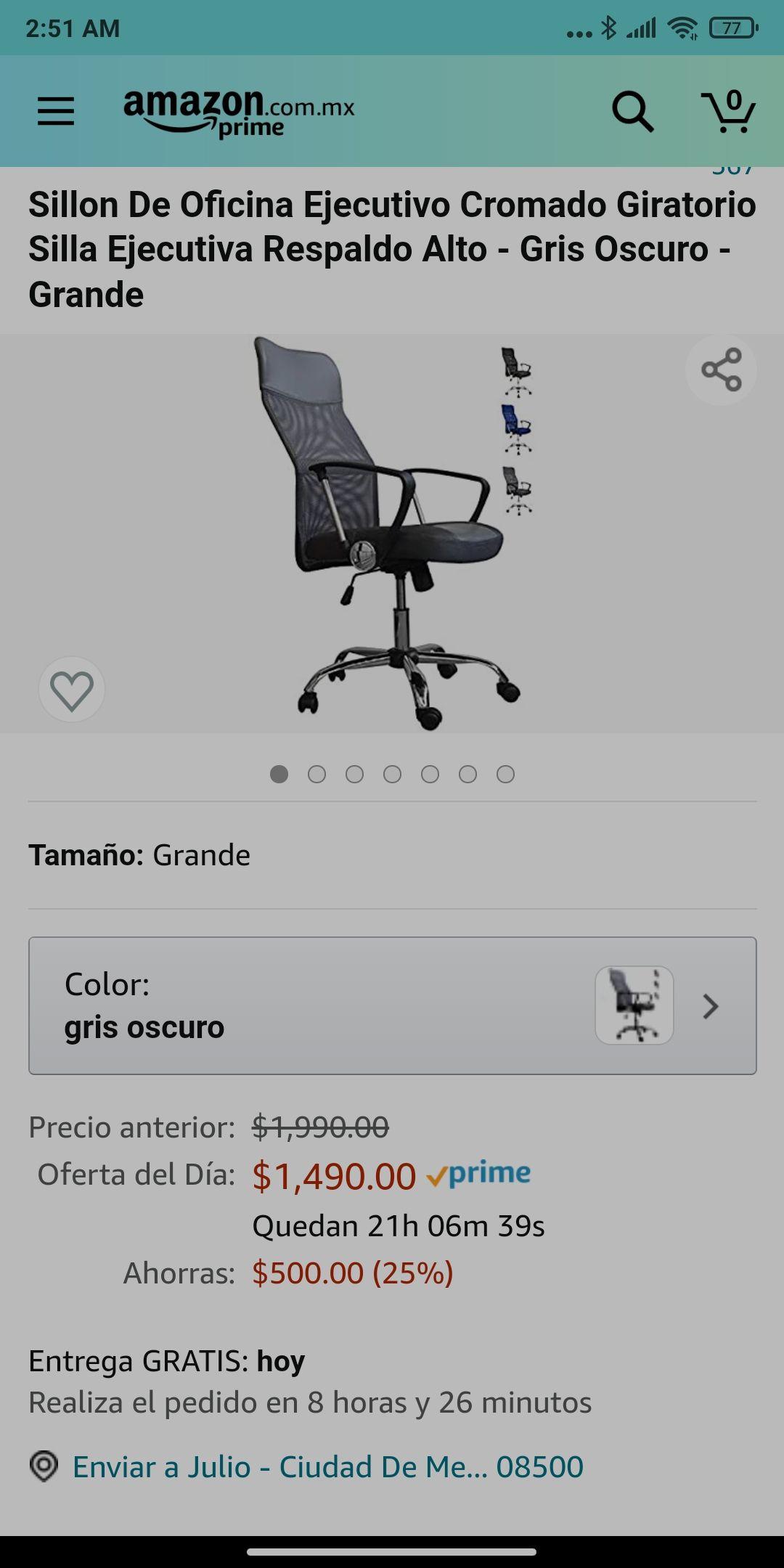 Amazon Silla PAL Home Office