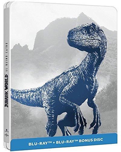Amazón México: Jurassic World: El Reino Caído (SteelBook) [2 Disc Blu-ray]