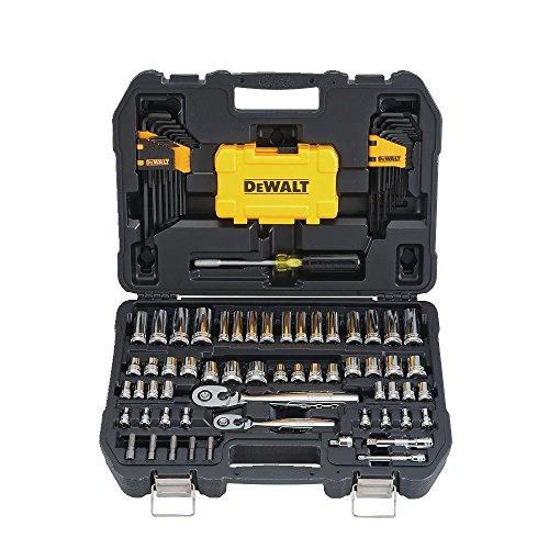 Amazon: DEWALT - Juego de herramientas mecánicas y llave de vaso