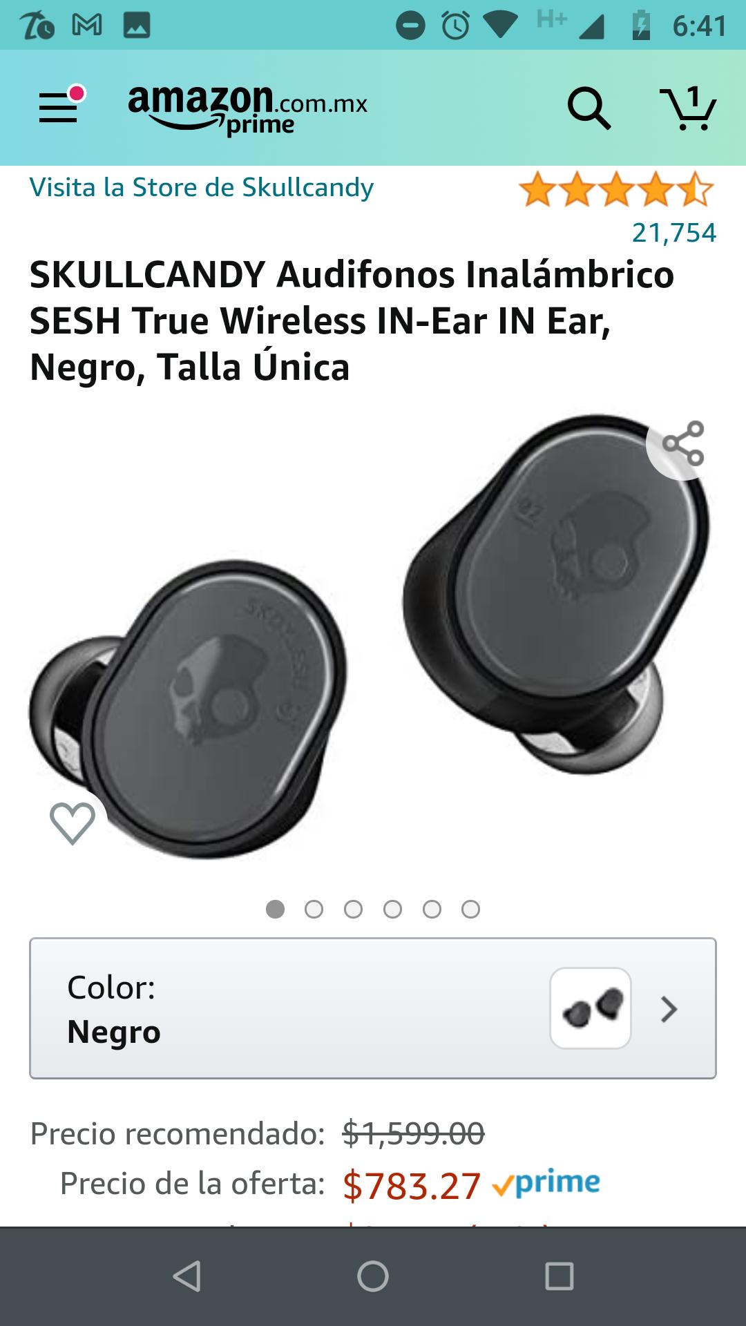 Amazon: audífonos inalambricos Skullcandy