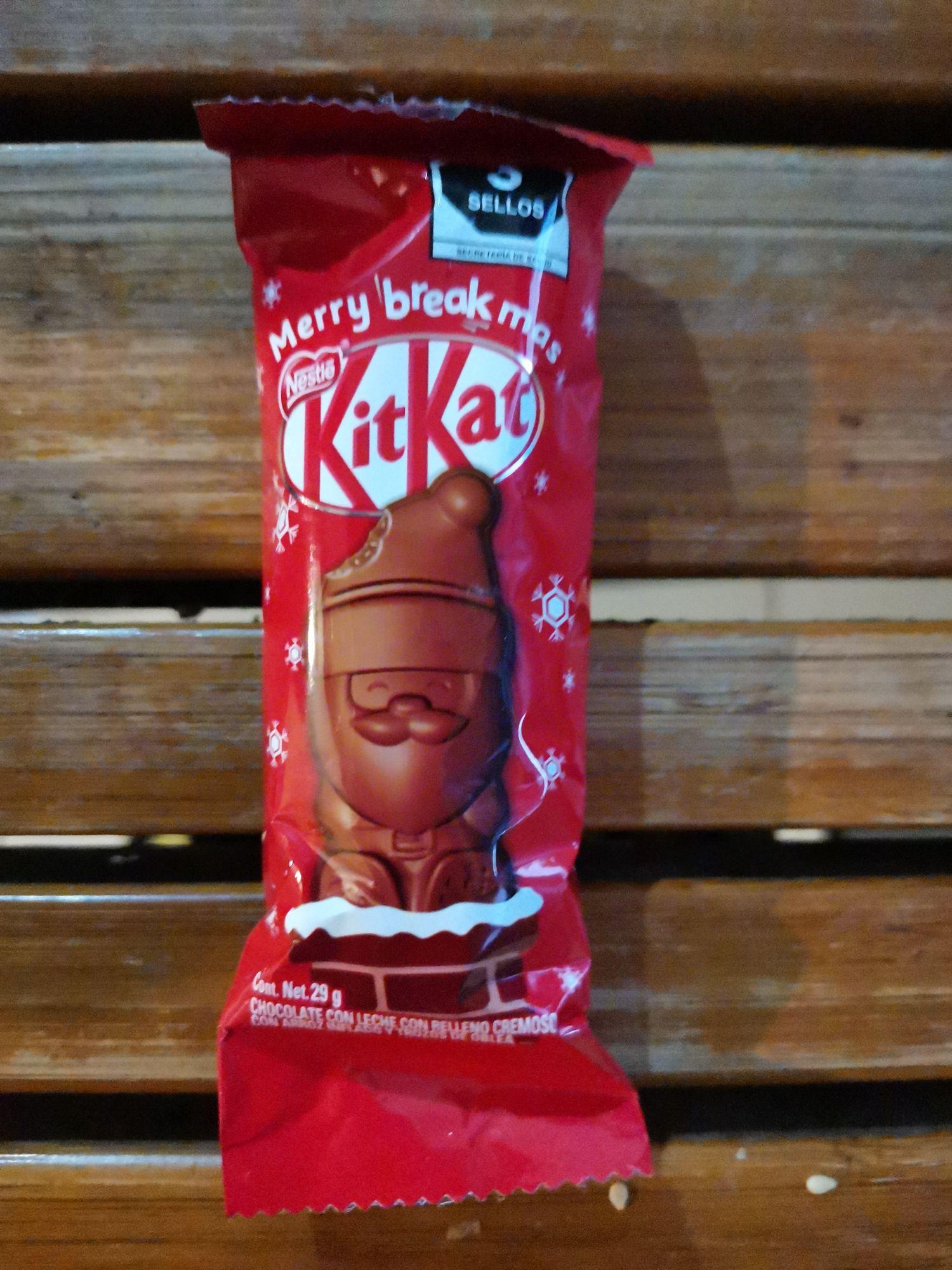 Walmart: KitKat de santa