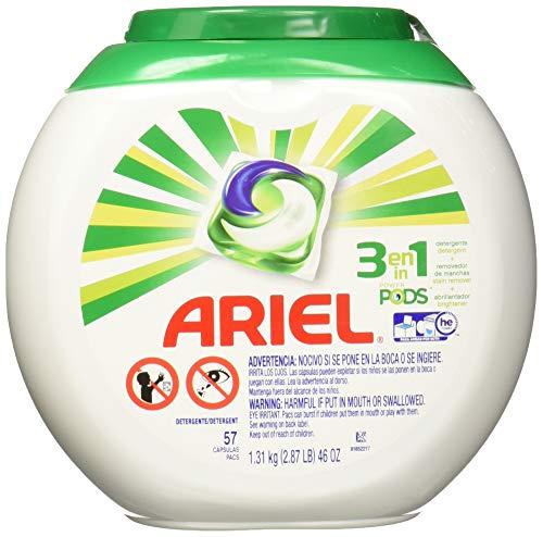Amazon Ariel Pods Detergente Liquido Para Ropa En Cápsulas, 57 Piezas