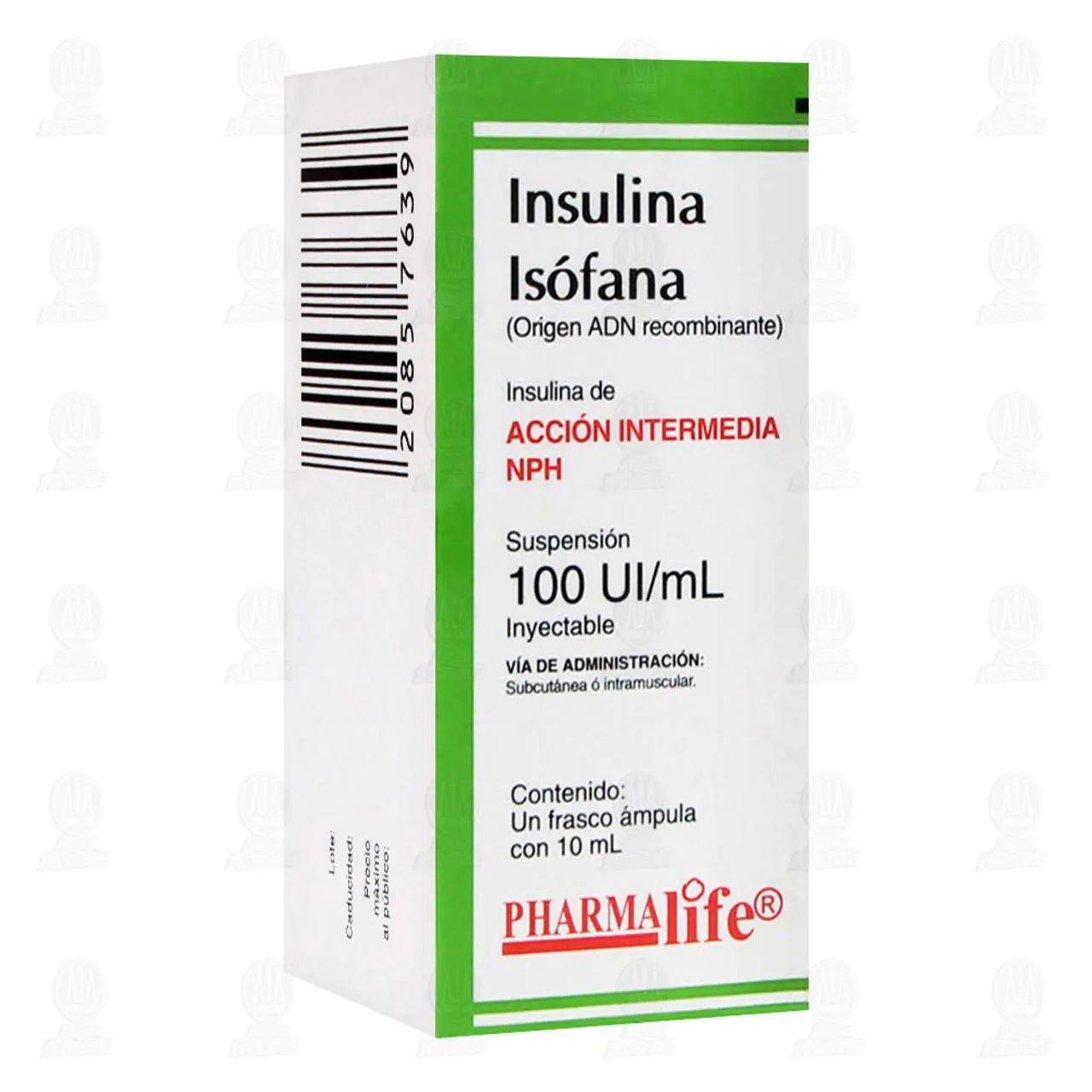 Farmacias Guadalajara: Insulina Isofana Intermedia