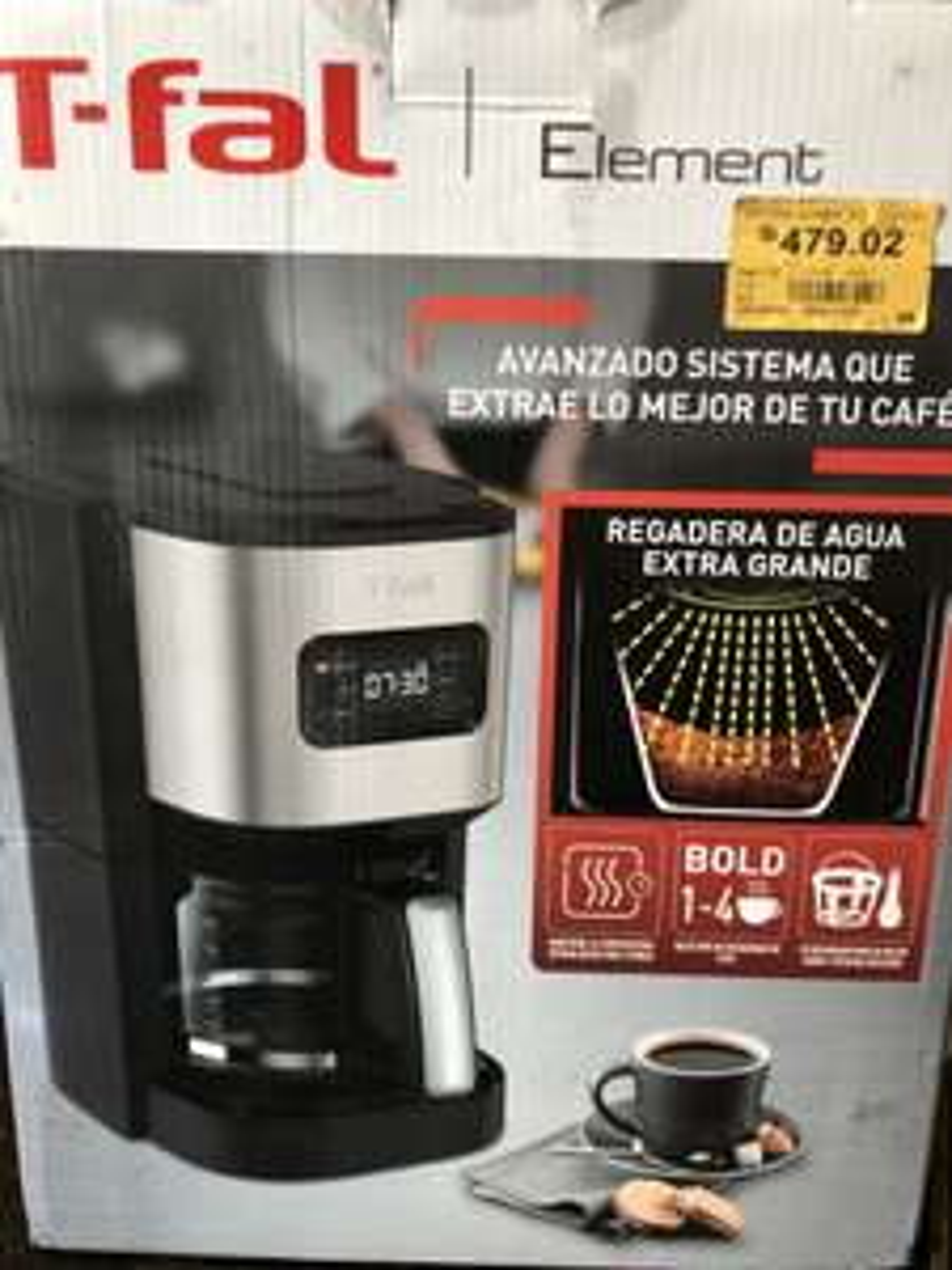 Cafetera T-fal. Superama Villahermosa, Tabasco