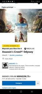Microsoft Store: Assassin's Creed Odyssey
