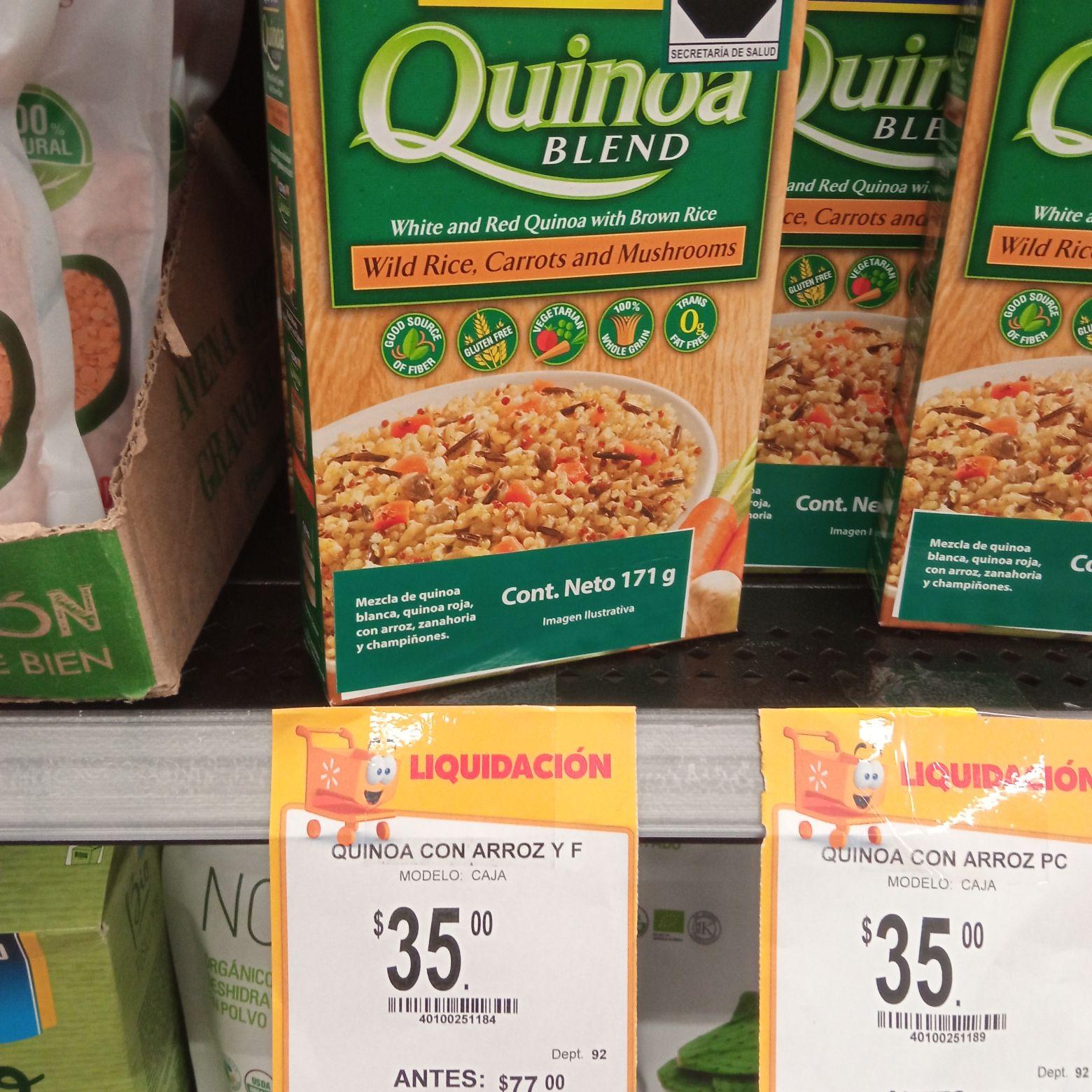 Quinoa, Walmart paseo Irapuato, no pregunten dónde xD gto