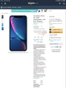 Iphone xr 64gb renewed amazon