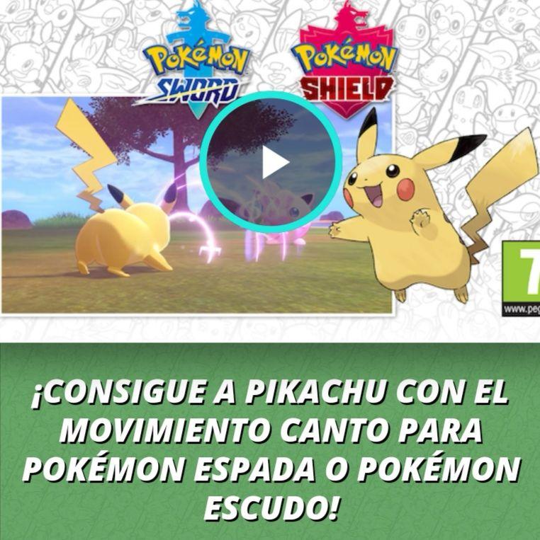 Nintendo Switch: Pikachu con el movimiento canto